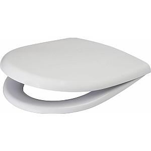 Tualetes sēdeklis Cersanit Merida lēnām aizverams balts (K98-0084)