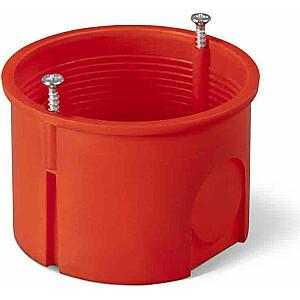 Elektro-Plast 60 mm iegremdējama kārba ar sarkanām skrūvēm PK-60 PRO (0281-01)