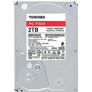 TOSHIBA HDD P300 Bulk 3.5 2TB SATA 7200RPM 64MB