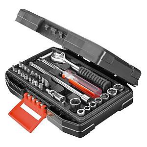 "Black & Decker uzgriežņu atslēgu komplekts 1/4 ""31gab. (A7142)"