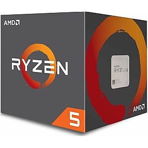 Procesors AMD Ryzen 5 1600 AF, 3,2 GHz, 16 MB, BOX (YD1600BBAFBOX)
