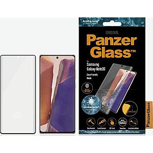 PanzerGlass rūdītais stikls priekš Samsung Galaxy Note20 korpusam draudzīgs melns