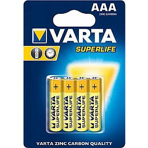 Varta Superlife AAA / R03 akumulators 4 gab.