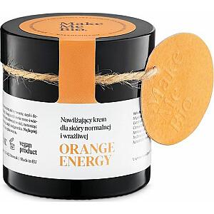 Make Me Bio Orange Energy mitrinošs krēms normālai un jutīgai ādai 60ml