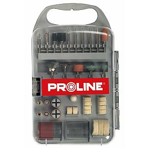 Proline Piederumu komplekts mini slīpmašīnām 71 gab. (93171)