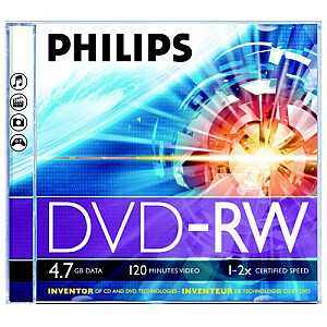 DVD-RW 4.7 GB jewel case