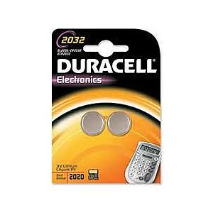 Duracell Bateria Electronics CR2032 220mAh 2szt.