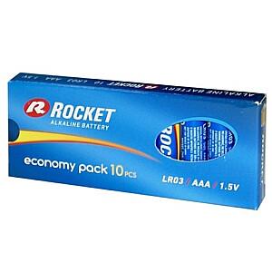 LR03-10BB (AAA) ECO Pack Blistera iepakojumā 10gb.