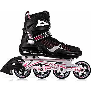 Skrituļslidas Blackwheels Race Black/Pink, 42.izmērs
