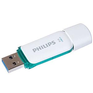 USB 3.0 Flash Drive Snow Edition (zaļa) 8GB