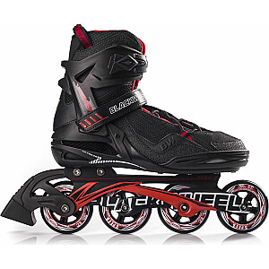Skrituļslidas Blackwheels Race Black/Red, 45. izmērs