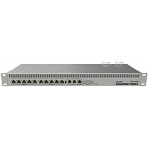 MikroTik MikroTik RB1100AHx4 Dude Edition 1.4GHz 1GB RAM, 13xGig LAN, 19'' 60GB M.2 SSD - MT RB1100Dx4