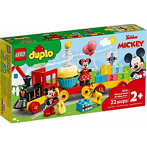 LEGO Duplo Mikija un Minnijas Peles dzimšanas dienas vilciens (10941)