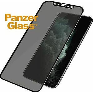 PanzerGlass rūdītais stikls priekš iPhone Xs Max / 11 Pro Max Privacy