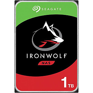 "Seagate IronWolf CMR 1 TB 3,5 ""SATA III (6 Gb / s) servera disks (ST1000VN002)"