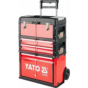 Yato trīsdaļīgs instrumentu ratiņi (YT-09101)