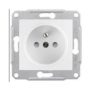 Schneider Electric viena kontaktligzda bez rāmja balta (EPH2800721)