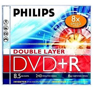 DVD+R DL 8.5GB JEWEL CASE