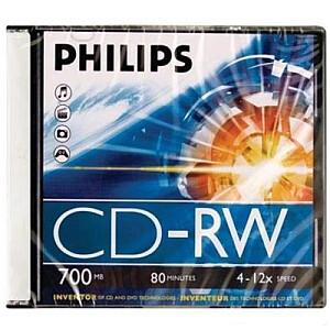 CD-RW700 4x-12x, jewel case
