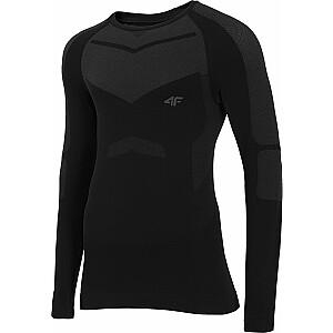 4f Vīriešu T-krekls H4Z20-BIMB035G melns. XXL / 3XL