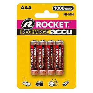 rechargeable HR03 1000mAh Blistera iepakojumā 4gb.