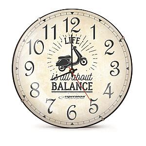 EHC018S Sienas pulkstenis Seattle. 30cm