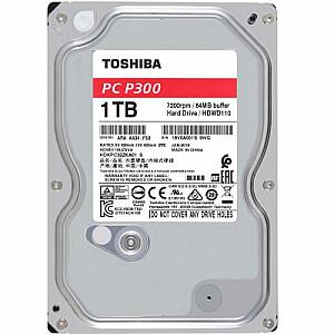 HDD P300 Bulk 3.5 1TB SATA 7200RPM 64MB