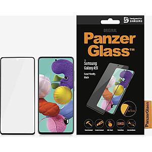 PanzerGlass rūdīts stikls priekš Samsung Galaxy A51 Case Friendly Black