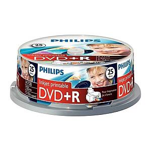 DVD+R 4.7GB CAKE BOX 25