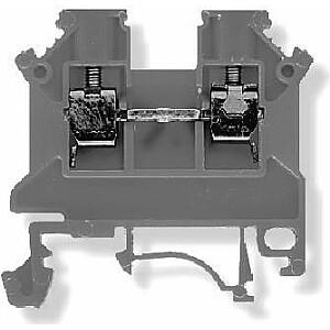 Simet Terminal block ZSG 1-4.0Ns 2-wire 4mm2 grey (11321312)