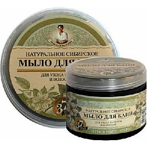 Babushka Agafia dabiskās Sibīrijas melnās ziepes 500 ml