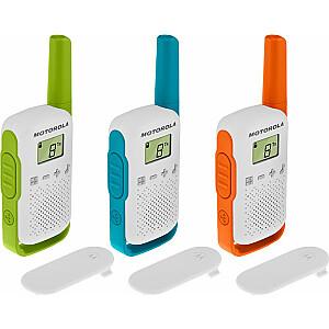 Motorola TLKR T42 3 komplektu rācija