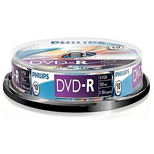 DVD-R 4.7GB cake box 10