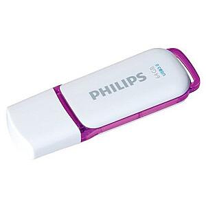 USB 3.0 Flash Drive Snow Edition (violeta) 64GB