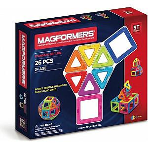 Dante Magformers - Magnētiskie bloki 26gab