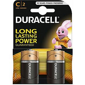Duracell Bateria Basic C / R14 2szt.