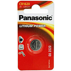 Panasonic Bateria Lithium Power CR1620 1szt.