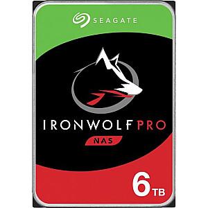 "Seagate IronWolf Pro CMR 6 TB 3,5 ""SATA III (6 Gb / s) servera disks (ST6000NE000)"