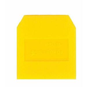 Telpas gala plāksne PSU-10 dzeltena A41-0201