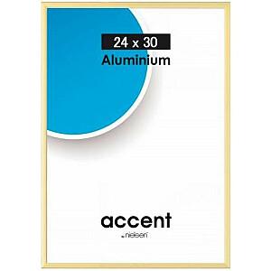 Nielsen Design 24x30 rāmis no alumīnija zelta (52221)