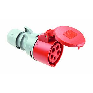 Portatīvais kontaktdakša PCE Turbo Shark 16A 400V 3P + Z + N IP44 (015-6TT)