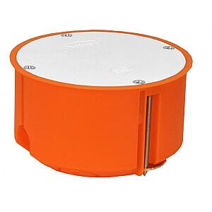 Simet Regips kaste P80F 80mm ar ieskrūvētu vāku oranža (33244008)