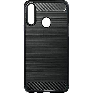Etui Carbon Samsung A21s A217 czarny /black