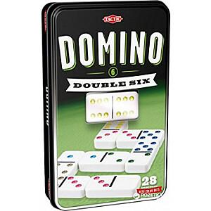 Spēle Domino D6, metāla kastē