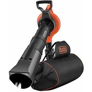 Black & Decker dārza putekļu sūcējs 3000W ar mugursomu (GW3031BP)
