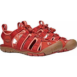 Keen Clearwater Cnx tumši sarkanas / koraļļu sandales sievietēm. 37 (1022963)