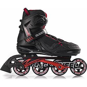 Skrituļslidas Blackwheels Race Black/Red, 42. izmērs