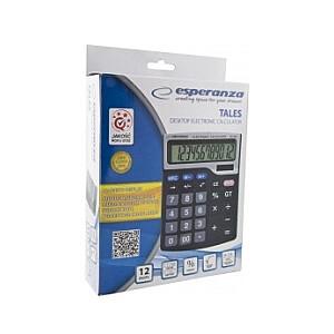 ECL101 Kalkulātors, 12 zīmju ekrāns