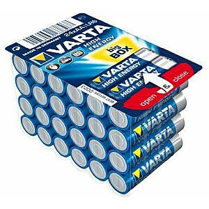 Varta Bateria augstas enerģijas AA / R6 24szt.