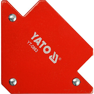 Yato metināšanas magnētiskais leņķis 82x120x13mm 11,5kg (YT-0863)